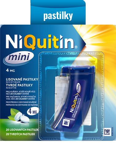 NiQuitin mini – lisované pastilky